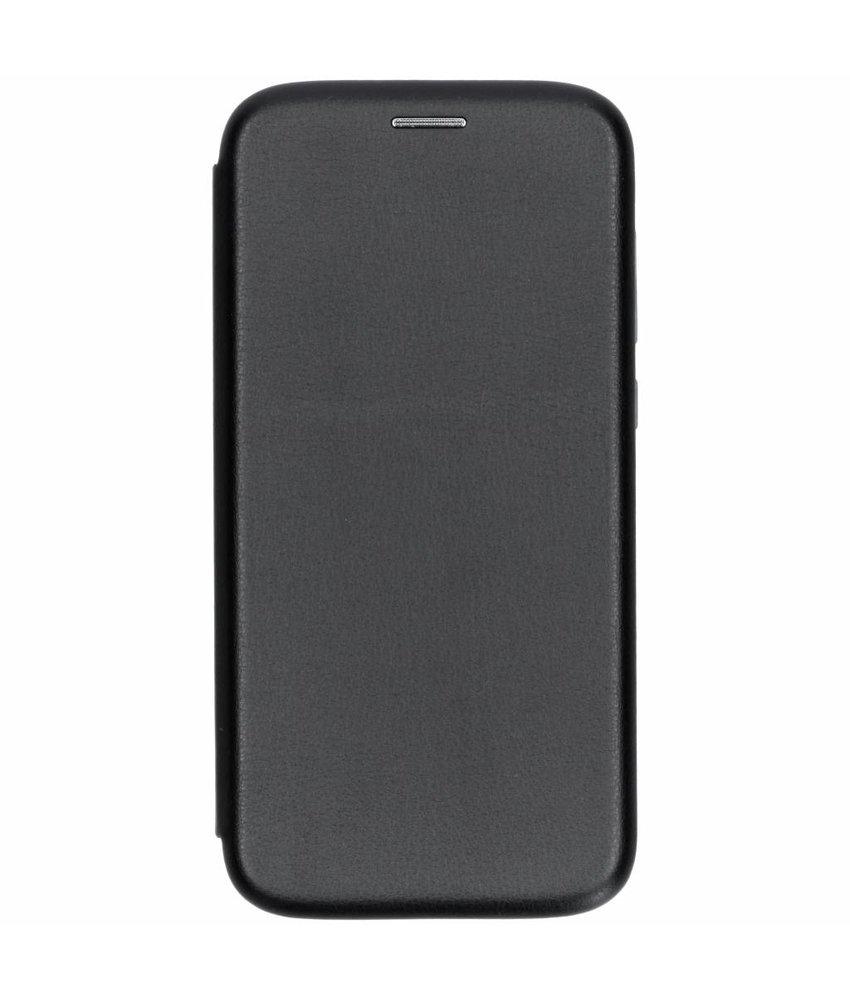 Zwart slim foliocase Motorola Moto E5 Play