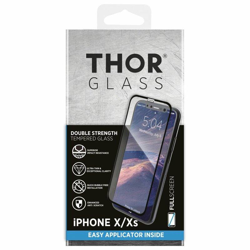 THOR Full Screenprotector + Apply Frame iPhone X / Xs