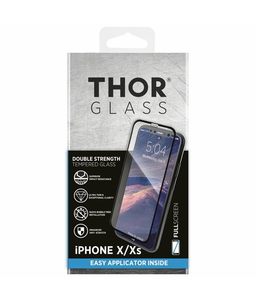 THOR Full Screenprotector + Apply Frame iPhone X / Xs