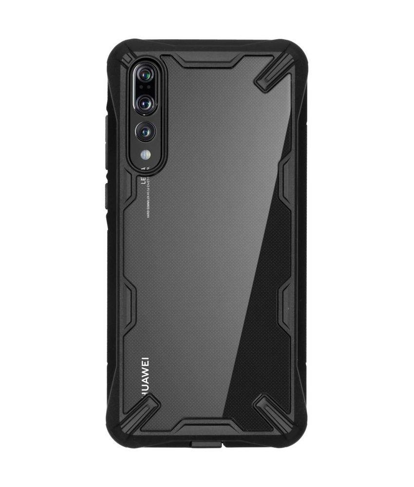 Ringke Zwart Fusion X Case Huawei P20 Pro