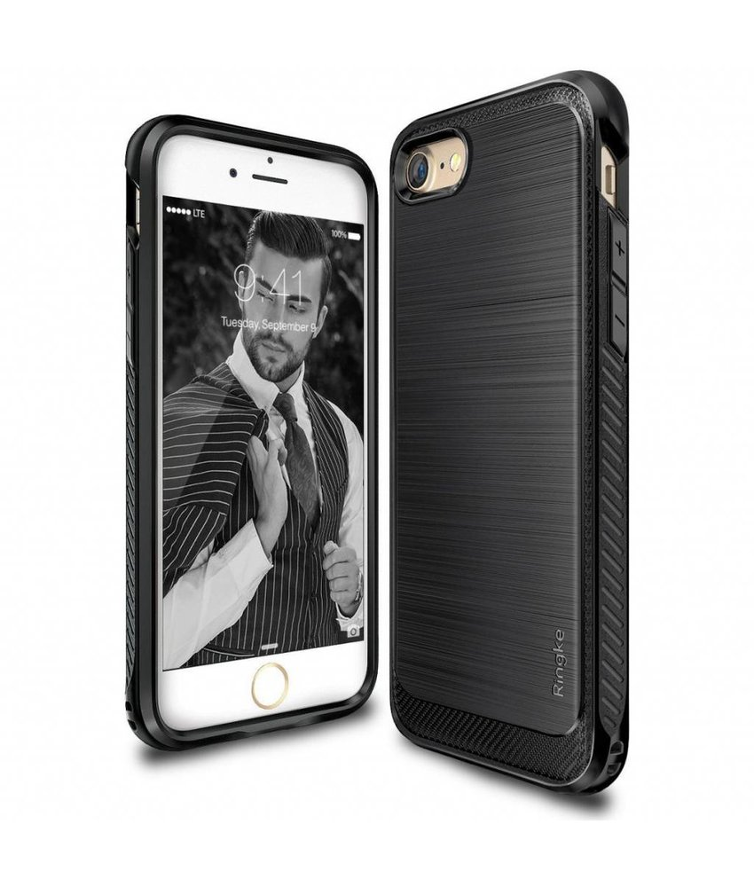 Ringke Zwart Onyx Case iPhone 8 / 7