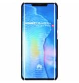Huawei Mate 20 Pro hoesje - Zwart effen hardcase hoesje