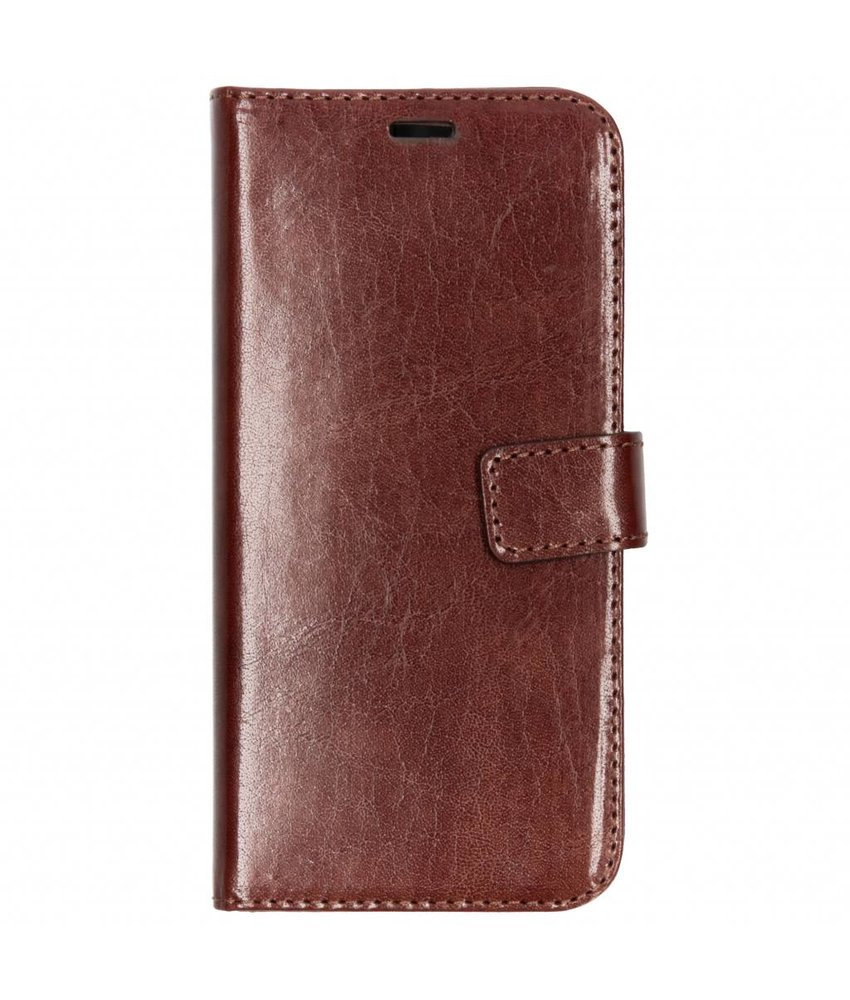 Valenta Bruin Booklet Leather Samsung Galaxy A6 (2018)