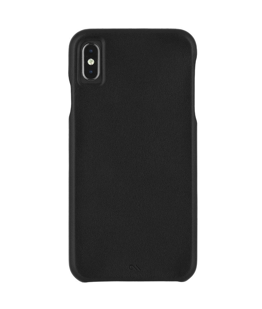 Case-Mate Barely There Leather Backcover iPhone Xs Max