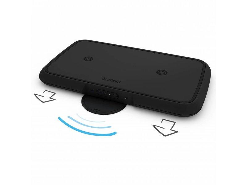 Zens Dual Wireless Powerbank - 9500 mAh