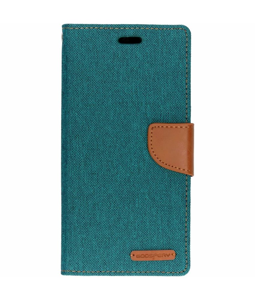 Mercury Goospery Canvas Diary Booktype Huawei Mate 20 Lite