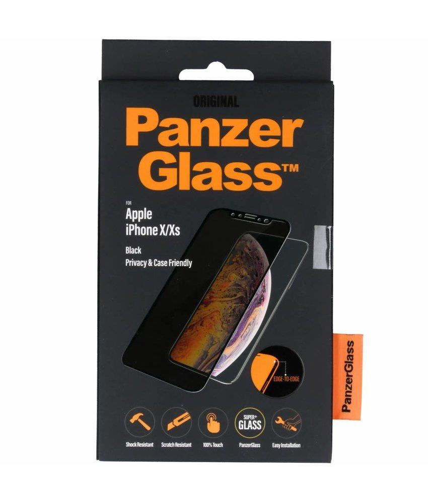 PanzerGlass Case Friendly Privacy Screenprotector iPhone Xs / X