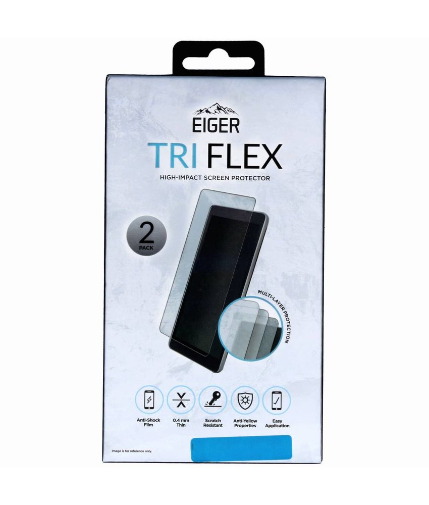 Eiger Tri Flex Screenprotector Samsung Galaxy A9 (2018)