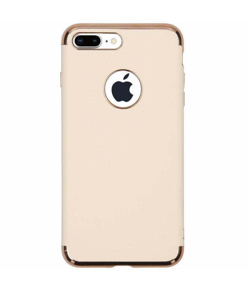 Luxe Lederen Backcover iPhone 8 Plus / 7 Plus