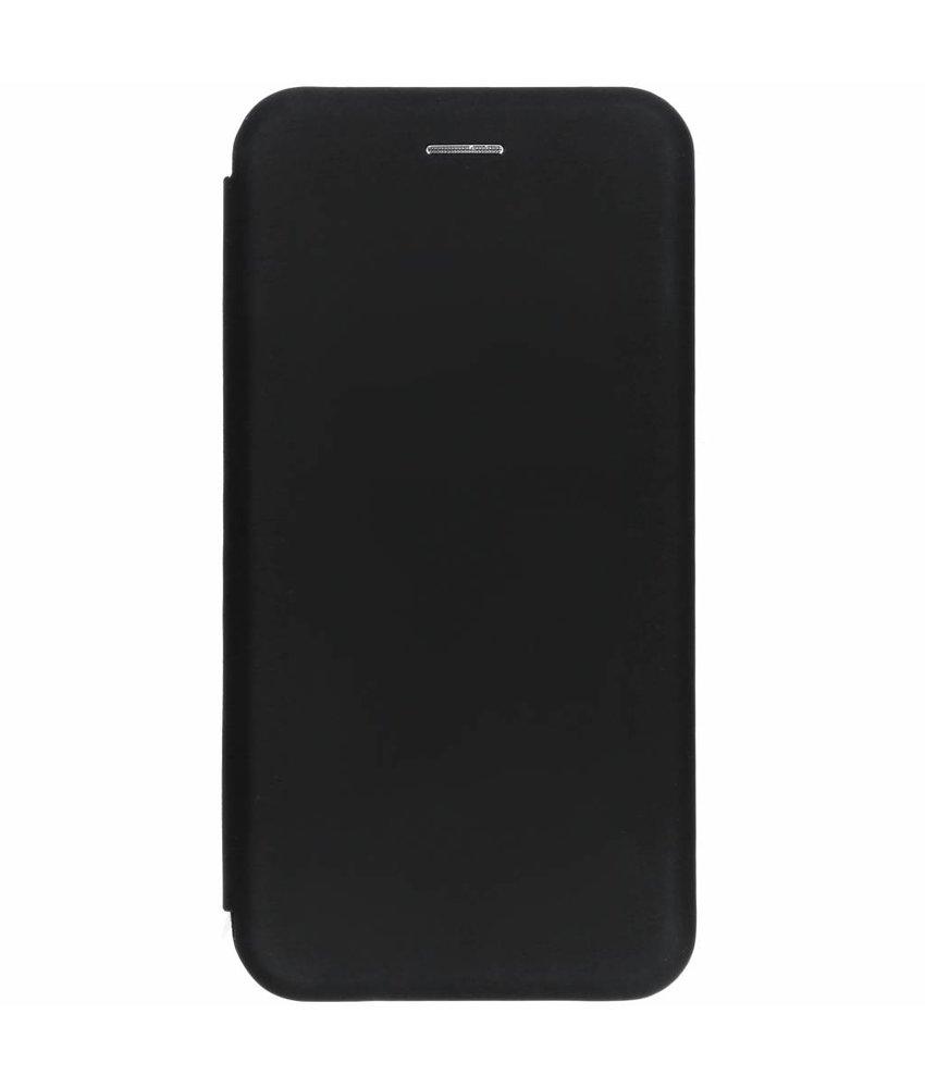 Zwart slim folio color case Huawei Mate 20 Lite