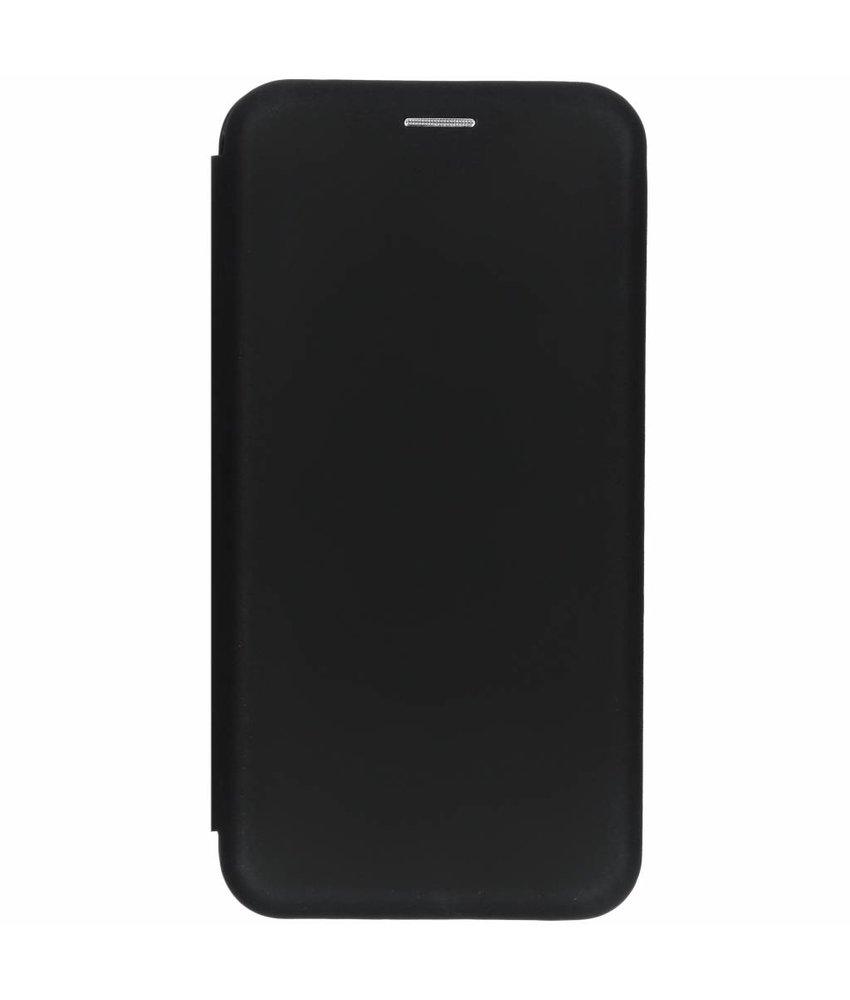 Zwart slim folio color case Samsung Galaxy A7 (2018)