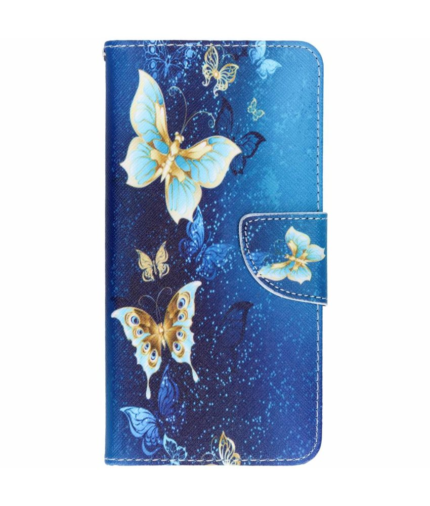 Design Softcase Booktype Huawei Mate 20
