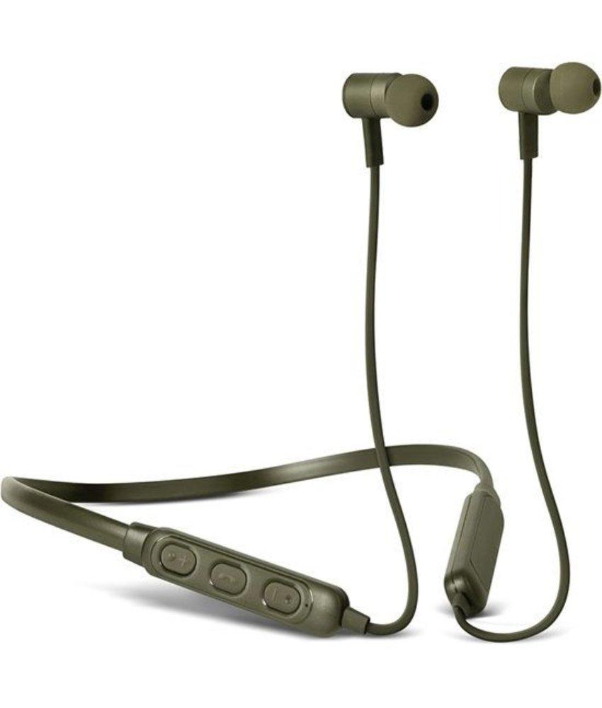 Fresh 'n Rebel Groen Band-It Wireless In-Ear Headphones
