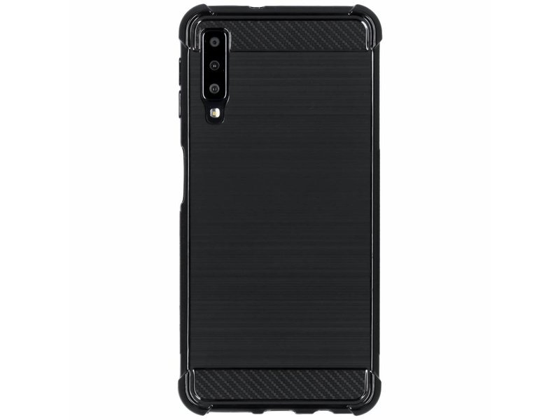 detailed look 56173 fea27 Xtreme Softcase Backcover voor Samsung Galaxy A7 (2018) - Zwart