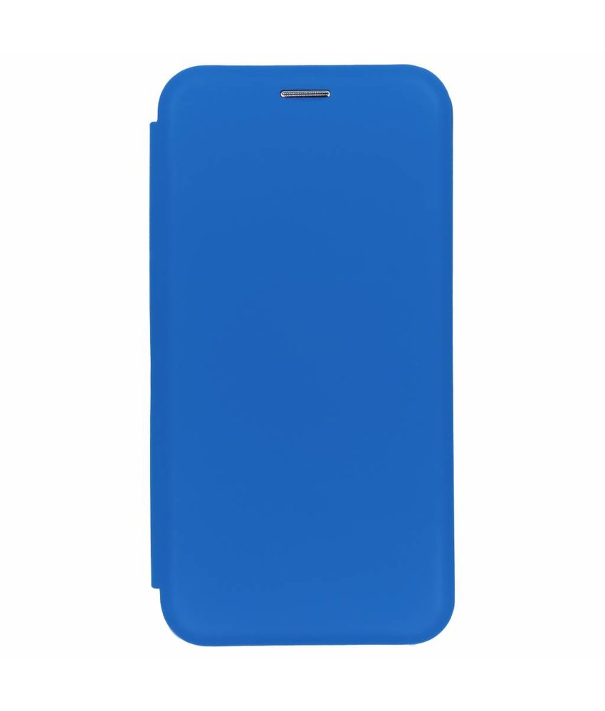 Blauw slim folio color case Samsung Galaxy A7 (2018)