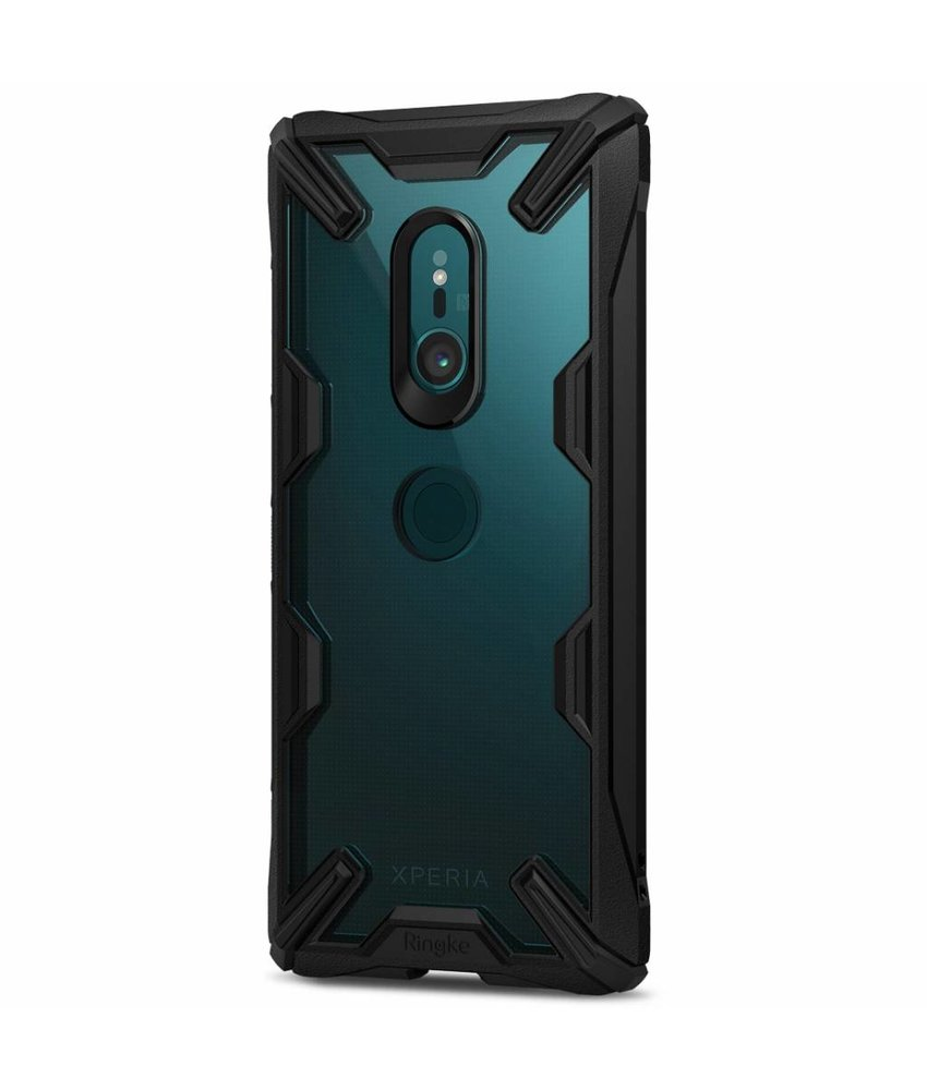 Ringke Zwart Fusion X Case Sony Xperia XZ3