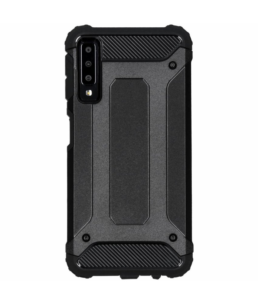 Zwart Rugged Xtreme Case Samsung Galaxy A7 (2018)