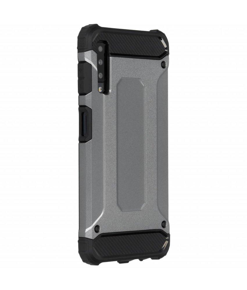 Grijs Rugged Xtreme Case Samsung Galaxy A7 (2018)