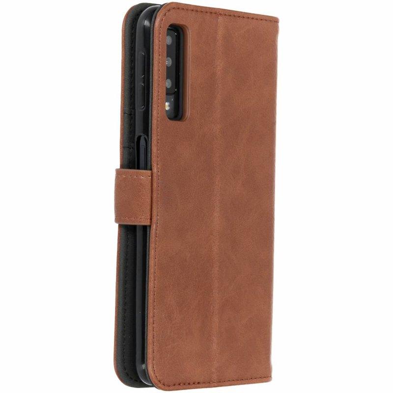 Luxe Lederen Booktype Samsung Galaxy A7 (2018)