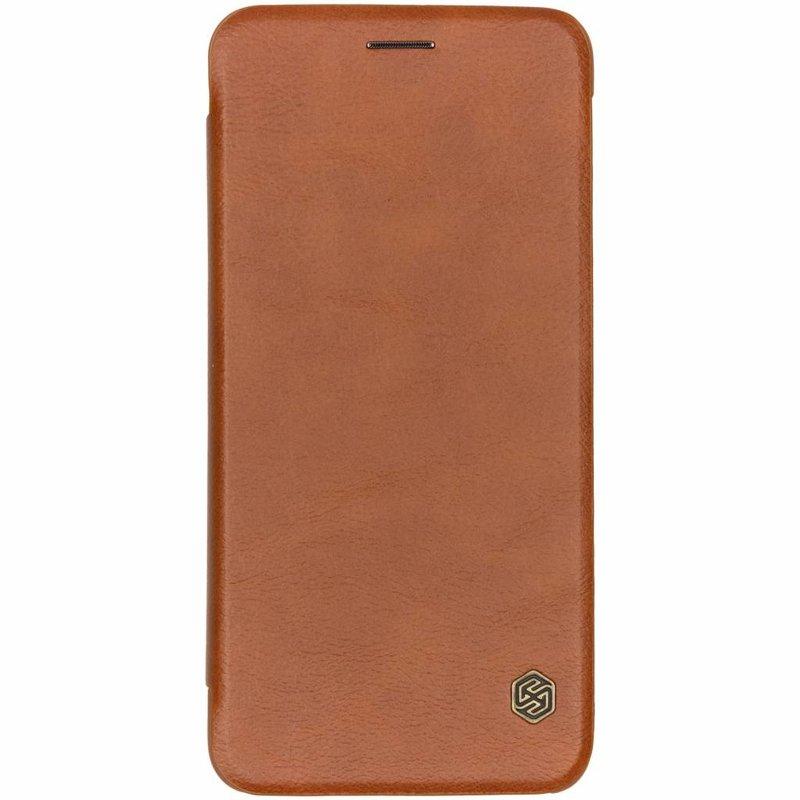Nillkin Qin Leather Slim Booktype Samsung Galaxy A7 (2018)