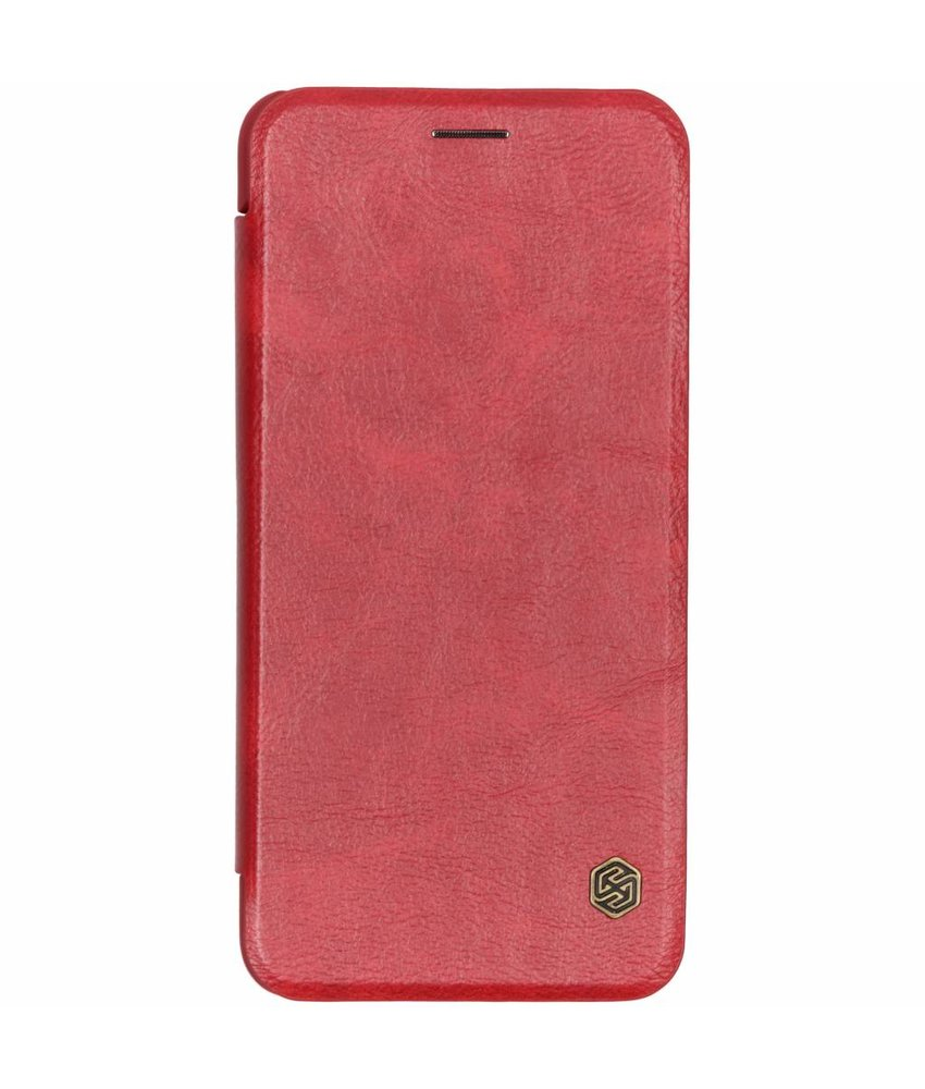Nillkin Qin Leather Slim Booktype Samsung Galaxy A7 (2018)