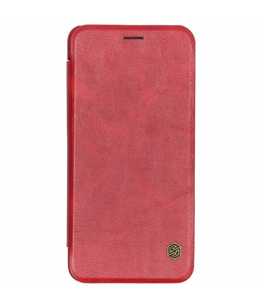 Nillkin Rood Qin Leather Slim Booktype Samsung Galaxy A7 (2018)
