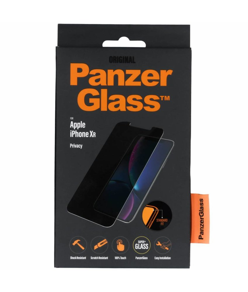PanzerGlass Privacy Screenprotector iPhone Xr