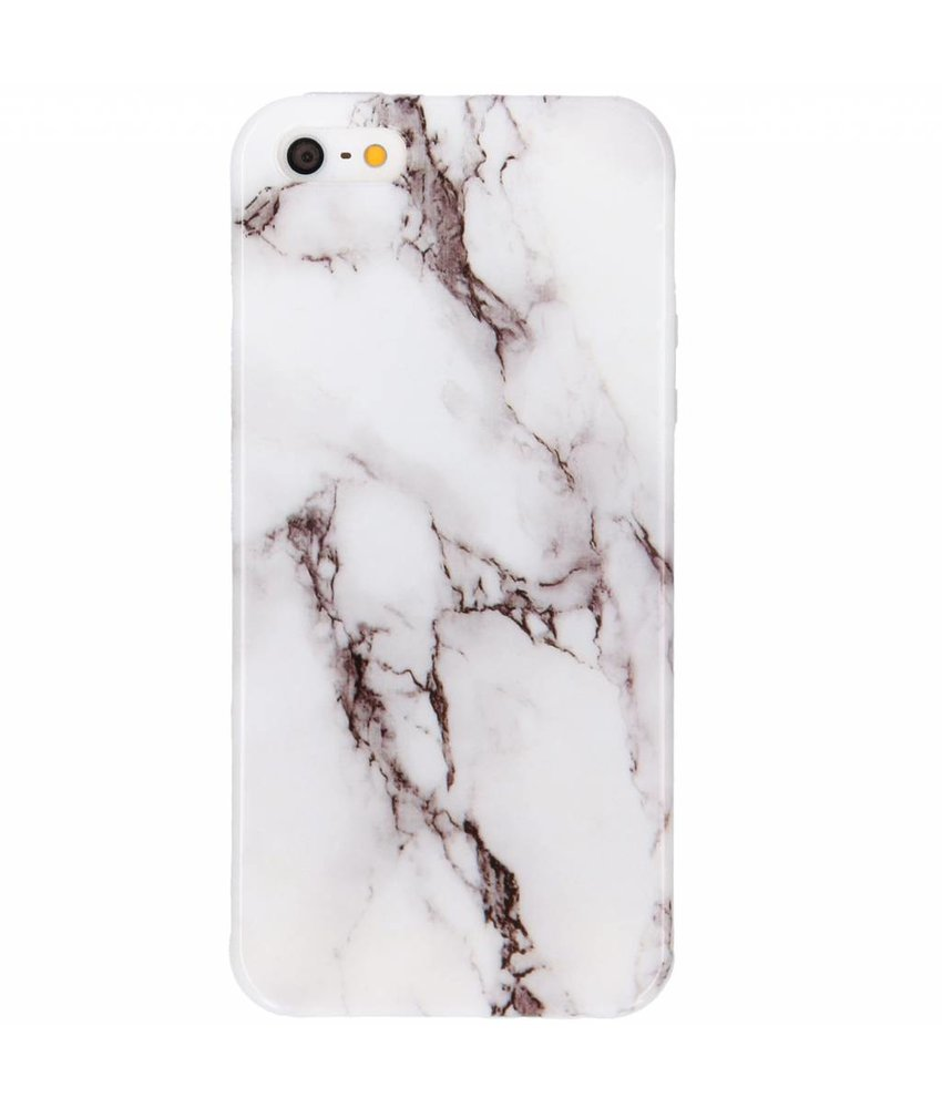 Marmer Softcase Backcover iPhone SE / 5 / 5s