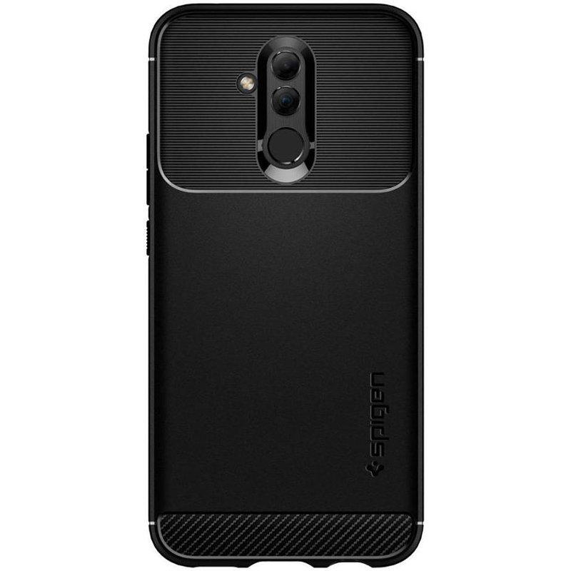 Spigen Zwart Rugged Armor™ Case Huawei Mate 20 Lite