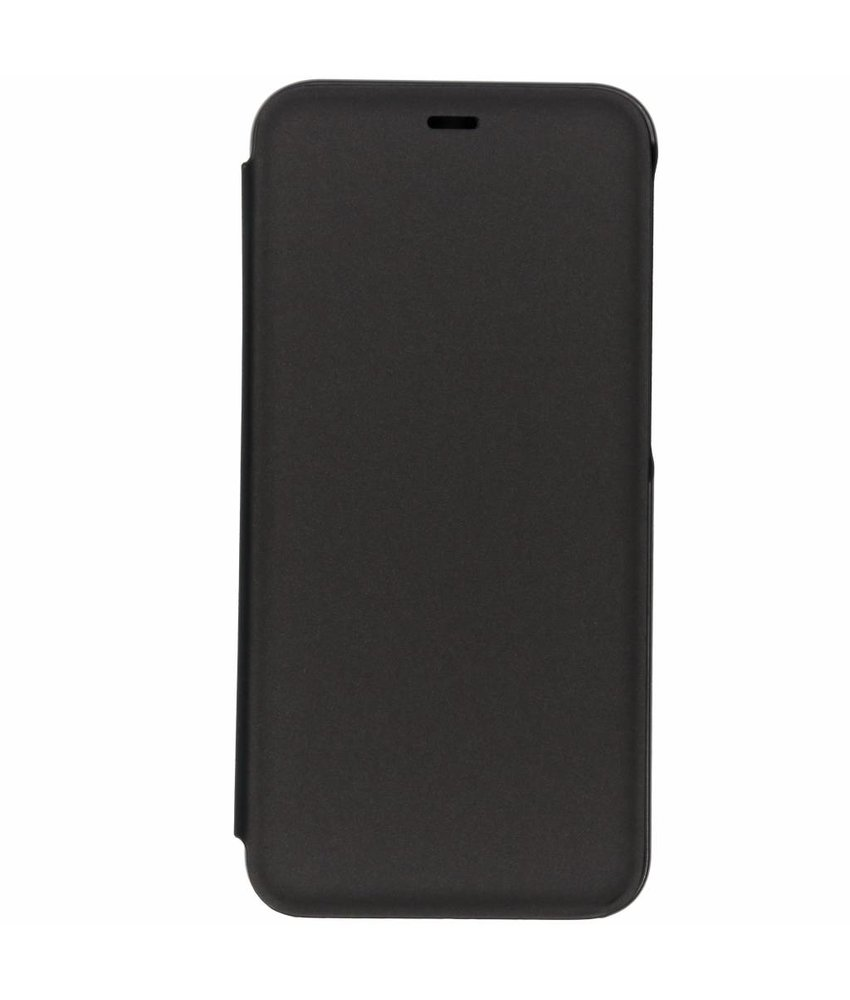 Zwart luxe stand booktype hoes Samsung Galaxy J6 Plus