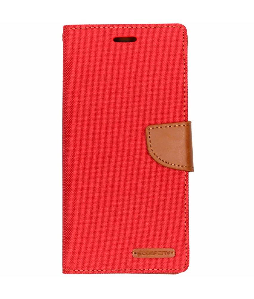 Mercury Goospery Canvas Diary Booktype Samsung Galaxy J6 Plus