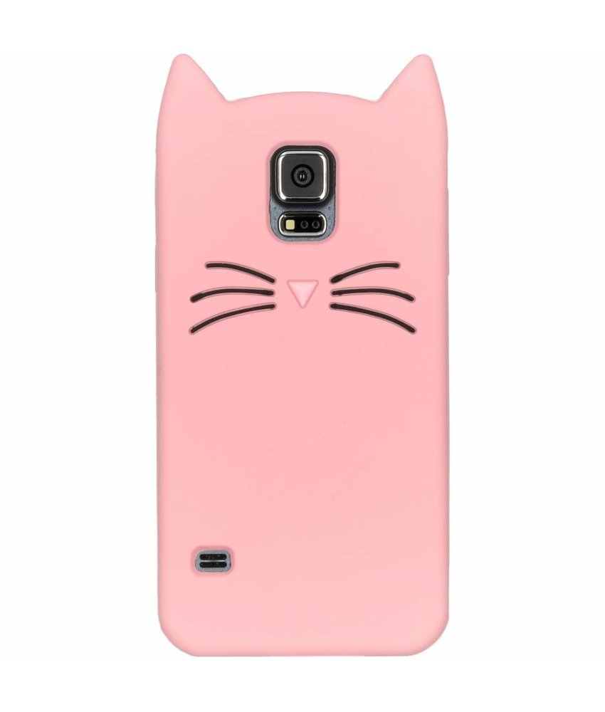 Kat Backcover Samsung Galaxy S5 (Plus) / Neo