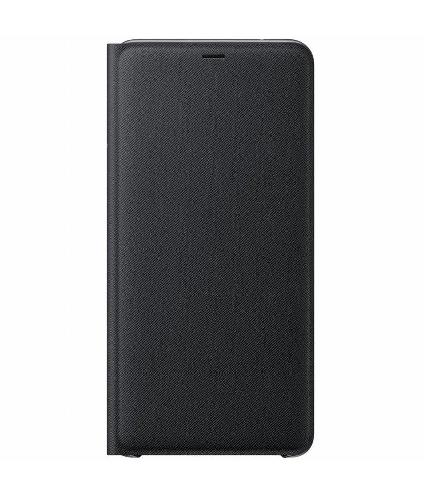 Samsung Zwart Wallet Cover Galaxy A9 (2018)