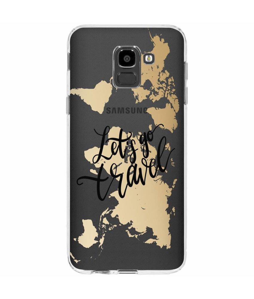 Quote design TPU hoesje Samsung Galaxy J6