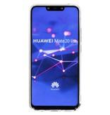 Huawei Mate 20 Lite hoesje - Metallic Softcase Backcover voor