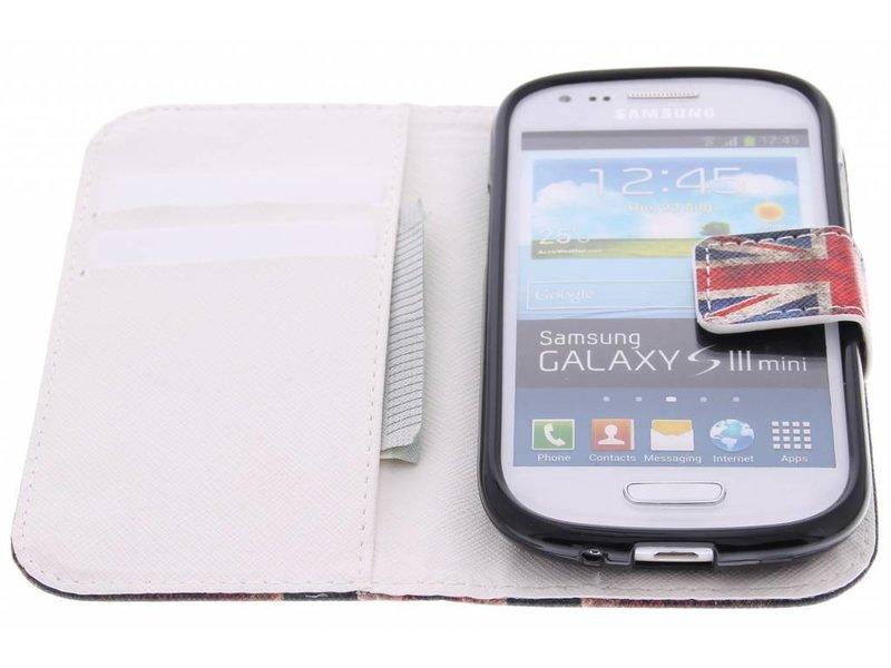 Samsung Galaxy S3 Mini hoesje - Design Softcase Booktype voor