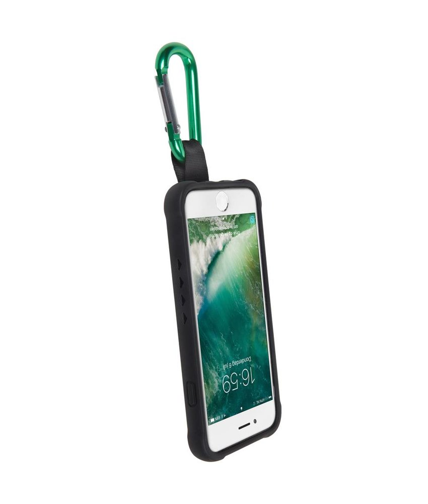 Gecko Covers Zwart Back Cover Bounce met clip iPhone 7 / 6 / 6s