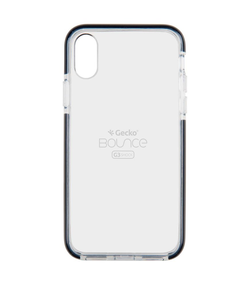 Gecko Covers Zwart Back Cover Bounce iPhone X