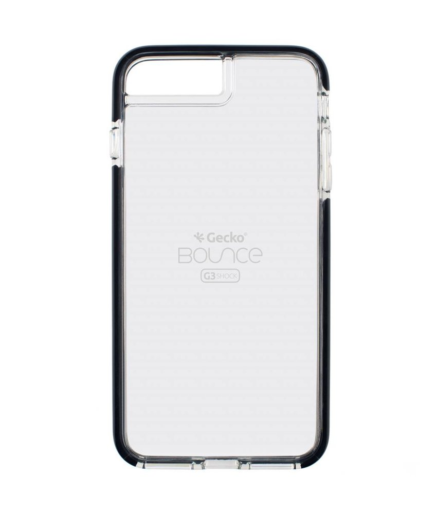 Gecko Covers Zwart Back Cover Bounce iPhone 8 Plus / 7 Plus