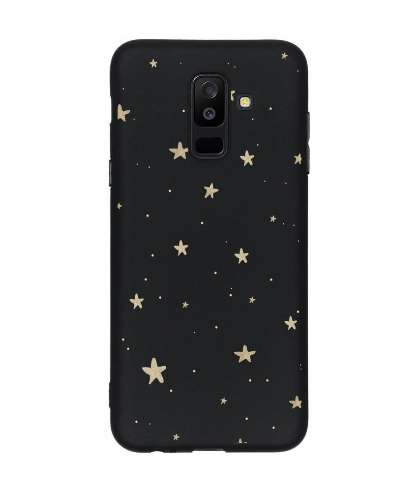 Winter design siliconen hoesje Samsung Galaxy A6 Plus (2018)