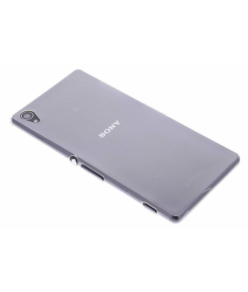 Ultra Thin Transparant Backcover Sony Xperia Z3