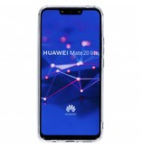 Luipaard metallic design siliconen hoesje voor de Huawei Mate 20 Lite