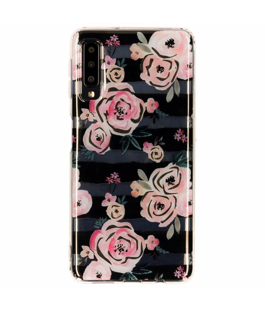 Metallic Softcase Backcover Samsung Galaxy A7 (2018)