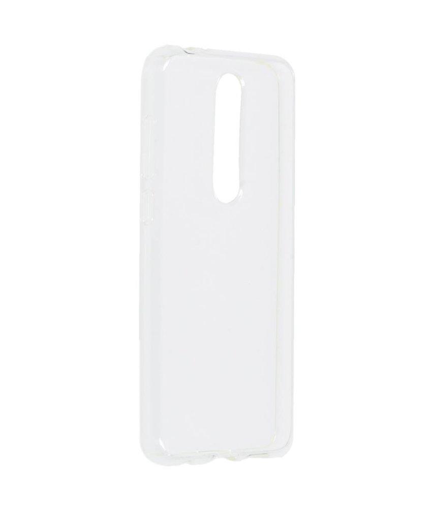 Softcase Backcover Nokia 5.1 Plus