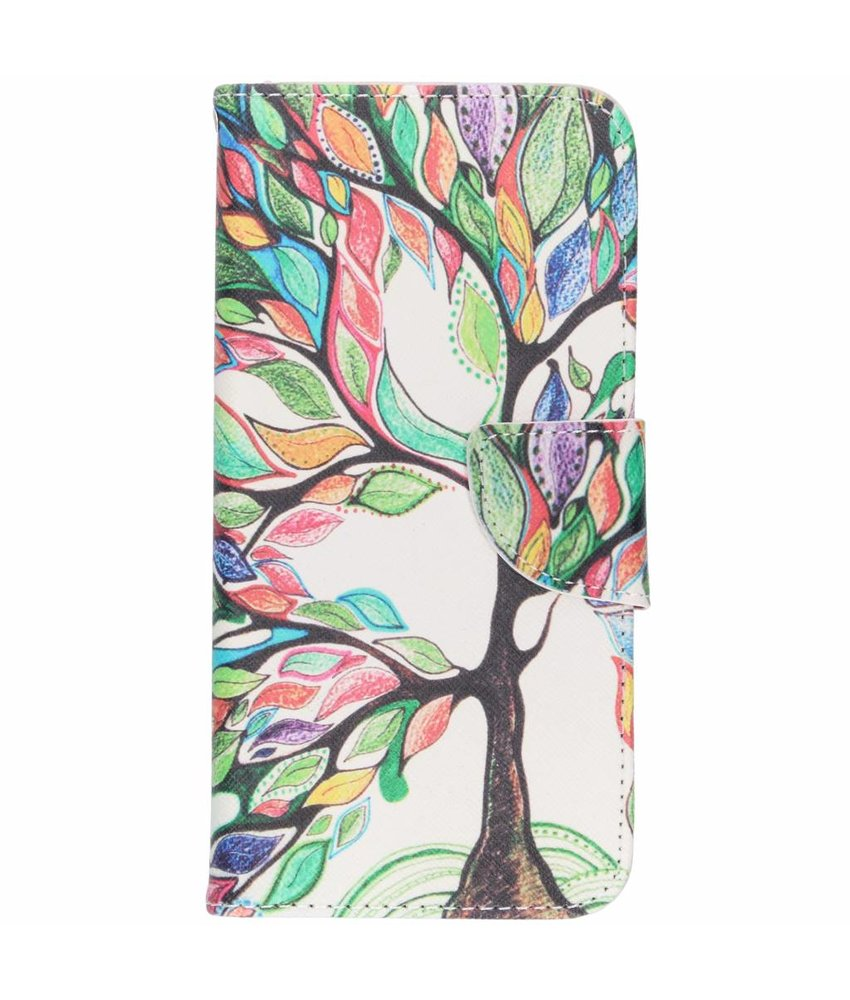 Design TPU booktype hoes Huawei P Smart (2019)