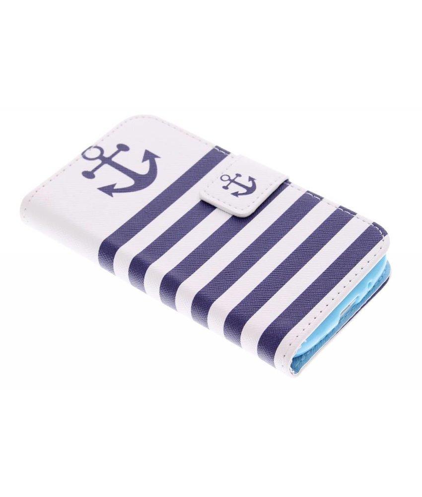Design Softcase Booktype Samsung Galaxy Core