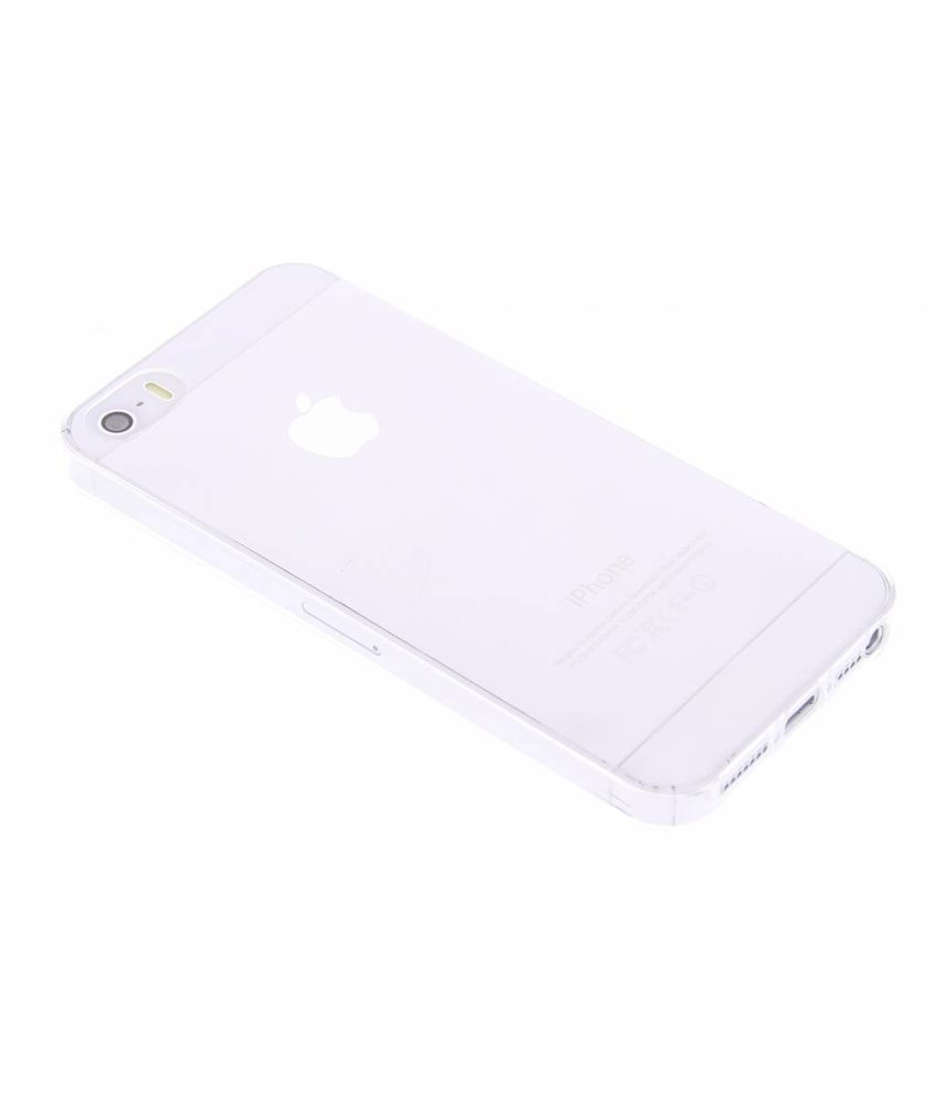 Ultra Thin Transparant Backcover iPhone SE / 5 / 5s