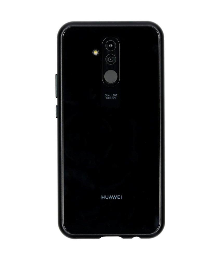 Selencia Zwart magnetisch hoesje Huawei Mate 20 Lite