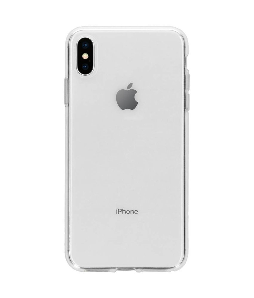 Transparant gel case iPhone Xs Max