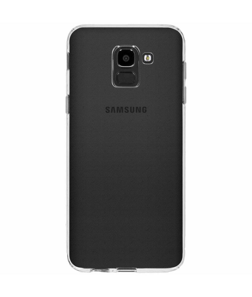 Transparant gel case Samsung Galaxy J6